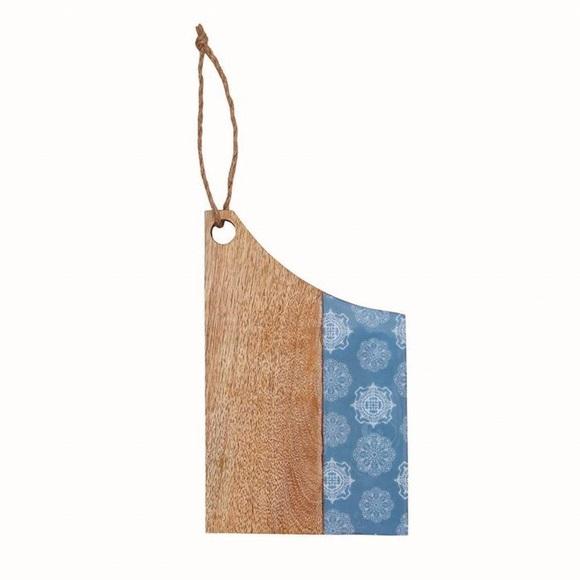 Blue Small Mango Cutting Board